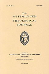 160px-Westminster_Theological_Journal
